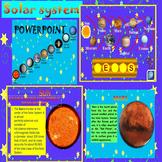 Solar System - Space - Mercury - Venus - Earth - Mars - In
