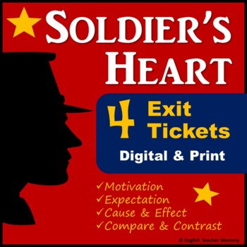 Soldier's Heart Novel Exit Slips