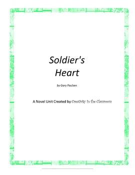 Soldier's Heart Novel Unit Plus Grammar