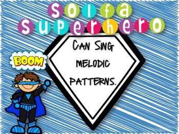 Solfa Superhero Printables {Freebie}