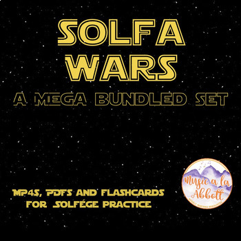 Solfa Wars {A Growing Bundle of MP4, Interactive PDFs and