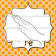 Solfege Curwen Hand Sign Posters: Dots