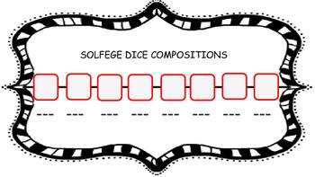 Solfege Dice Game