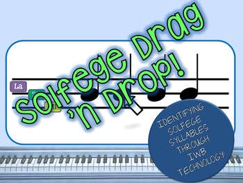 Solfege Drag 'n Drop!
