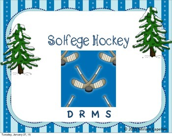Solfege Hockey DRMS