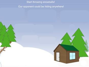 Solfege Snowball Fight!