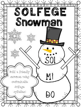 Solfege Snowman