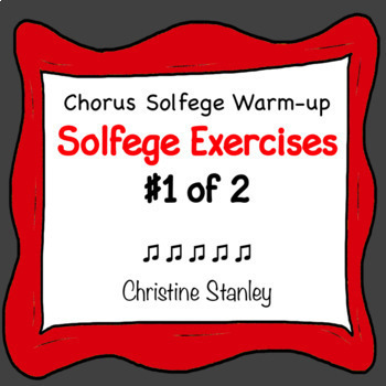 Solfege Syllable Exercises 1