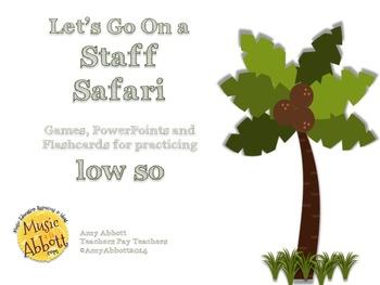 Solfége Staff Safari: low so