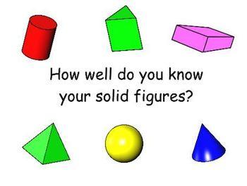 Solid Figures Activote Quiz