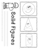 Solid Figures and Plane Shapes Foldables for the Primary Grades