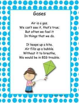 Solid, Liquid, Gas Poems