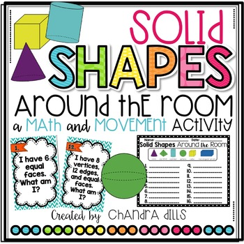 Solid Shapes Around the Room Activity