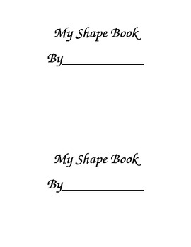 Solid Shapes Book