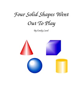 Solid Shapes Song Book for CCGPS