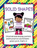 Solid Shapes for Kindergarten Learners