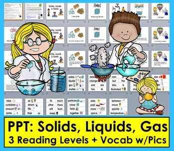 Solids, Liquids, Gases POWERPOINT