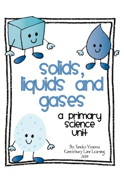 States of Matter (Solids, Liquids, and Gases): A Primary S