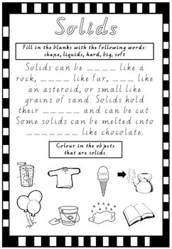 Solids- States of Matter