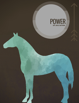 Motivational, Positive Affirmation Horse Cards & Poster