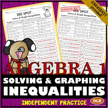 Solving and Graphing Inequalities Practice Worksheet