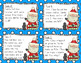 2-Digit Addition and Subtraction Task Cards - Santa Theme