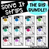 Solve It Strips BUNDLE! Hands-On Math Puzzles