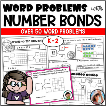 Story Problems and More ~ Solve It with Number Bonds