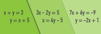 Solve Linear Equations Algebraically