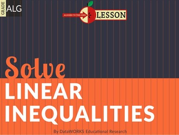 Solve Linear Inequalities in One Variable