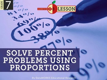 Solve Percent Problems Using Proportions