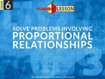 Solve Problems Involving Proportional Relationships