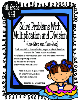 Solve Problems with Multiplication and Division (4th Grade