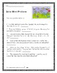 2nd Grade Math  Word Problems Addition and Subtraction