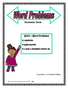 Solve Word Problems 2nd and 3rd Grade: Addition and Subtraction