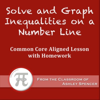 Solve and Graph Inequalities on a Number Line (Lesson Plan