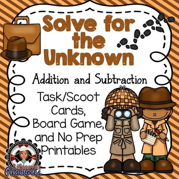 Solve for an Unknown  - Addition and Subtraction