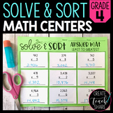 Solve 'n' Sequence Math Activities (4th Grade)