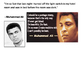 Solve the message puzzle from Muhammad Ali Number 3