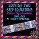 Solving Equations: Color By Number Bundle (1-step, 2-step,