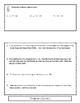 Solving Equations Flip Book!