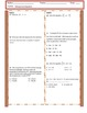 Solving Equation's Learning Scale and Study Guide