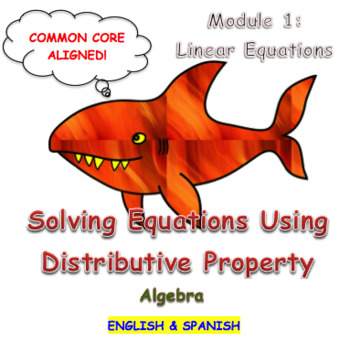 Solving Equations Using Distributive Property