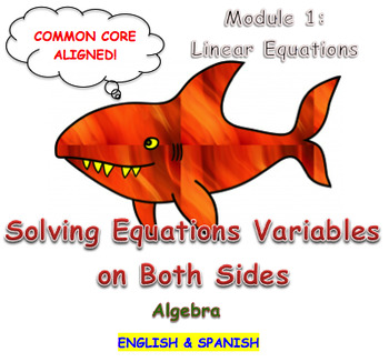 Solving Equations Variables on Both Sides
