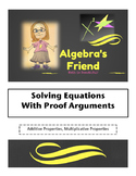 Solving Equations with Proofs