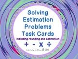 Solving Estimation Problems Task Cards