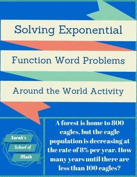 Solving Exponential Function Word Problems Around the Worl