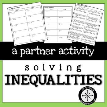 Inequalities Activity