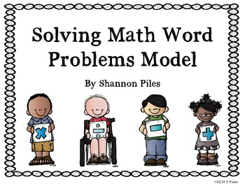 Solving Math Word Problems Posters