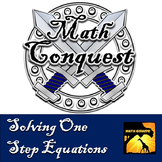 Solving One Step Equations - Conquest Game